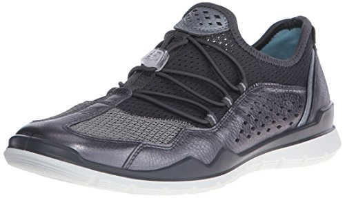 ECCO - Lynx Ladies, Scarpe fitness Donna Nero(Dark Shadow Metallic/Titanium 59528)