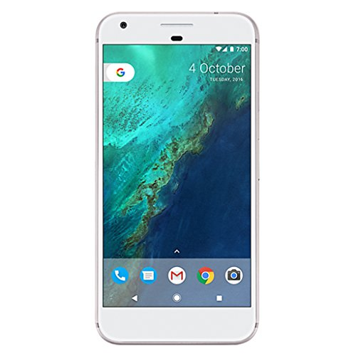"Google Pixel XL Single SIM 4G 128GB Silver, White - Smartphones (14 cm (5.5""), 128 GB, 12.3 MP, Android, 7.1, Silver, White)"