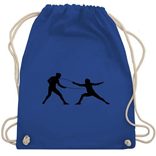 Kampfsport - Fechten - Unisize - Royalblau - WM110 - Turnbeutel & Gym Bag
