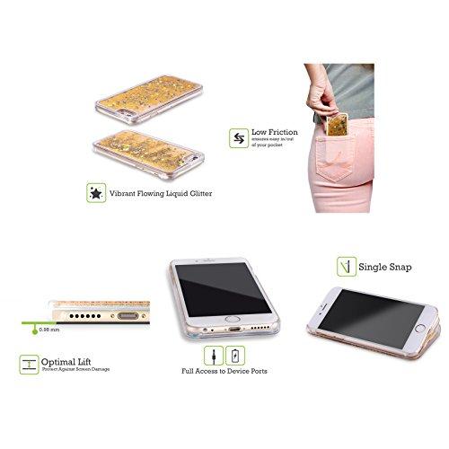 Head Case Designs Renard Animaux D'hiver Étui Coque Liquide Scintillez Or pour Apple iPhone 5 / 5s / SE Ours Blancs