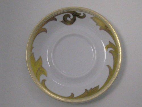 Versace Arabesque (Rosenthal Versace Arabesque Gold, Cappuccino-Untertas.)