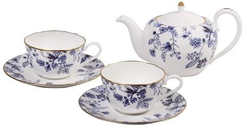 Noritake Sorrentino Tea, Blue, Set of