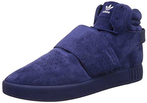 adidas Originals Tubular Invader Strap BB5036 Blue Sneaker Schuhe Shoes Mens Blue