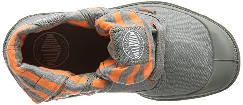 Palladium Unisex-Kinder Baggy Low Zip Lp Cvs Kurzschaft Stiefel Naranja (Grey)