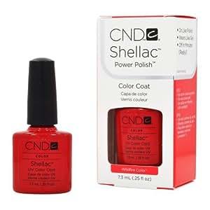 CND Shellac Creative Nail Shellac UV Color Coat Wildfire Color 0.25 oz by CND - Creative Nail Design [Beauty] (English Manual)
