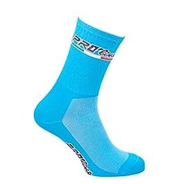 Calze Calzini Ciclismo Azzurro all Blue Sky Cycling Socks 1 Paio One Size New Line
