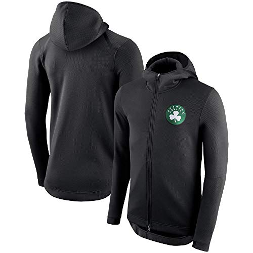 Nba Kinder-jacken (CNLINA NBA Sport Und Freizeit Jacke Zipper Hoodie Sweater Black-1-S)