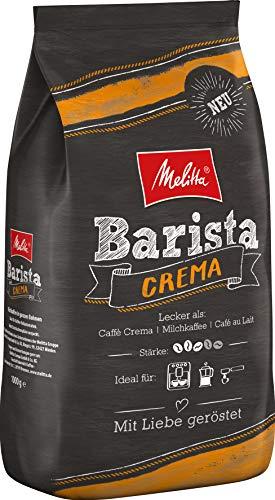 Melitta Barista Ganze Kaffeebohnen, ausgewogen und harmonisch, mittlerer Röstgrad, Stärke 3,...