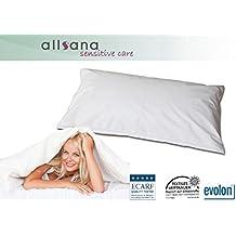 Allsana Allergiker Kissenbezug 40x60 cm Allergie Bettwäsche Anti Milben Encasing Zwischenbezug für Hausstauballergiker