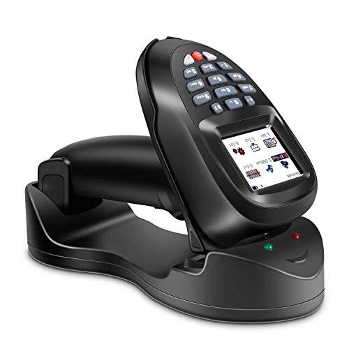 32 Mb-laser (FJIE Handscanner Mit LCD-Bildschirm, Kabellose Laser-Barcode-Pistole , Sammeln Sie Den Lagerbestand)