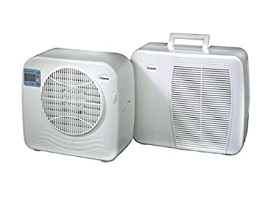 Euromac AC2400Split Air Conditioning System White, 55 dB, 18.5cm, 36cm, 39.5cm, 375Watts, White