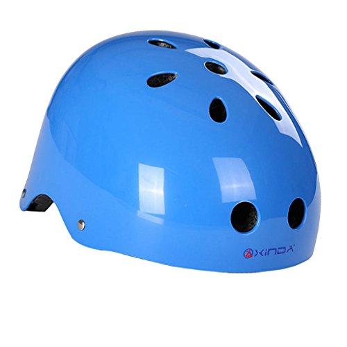 Abseilen Helm (Außen Safty Helm Klettern Für Abseilen Rettung Blau L Höhlenausrüstung)