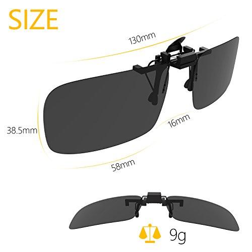 Zoom IMG-3 gritin clip su occhiali da