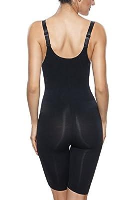 Franato Women's Shapewear Wear Your Own Bra Bodysuits Body Shaper Waist Cincher Thigh Reducer