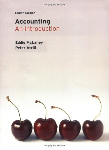 Accounting: An Introduction by Eddie McLaney (2008-03-30)