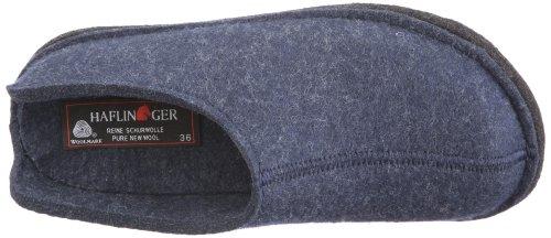 Haflinger Smily 311013 Unisex - Erwachsene Pantoffel Blau (kapitän 79)