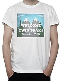 Camisetas La Colmena 2763-Camiseta Premium, Viva Twin Peaks (Karlangas)