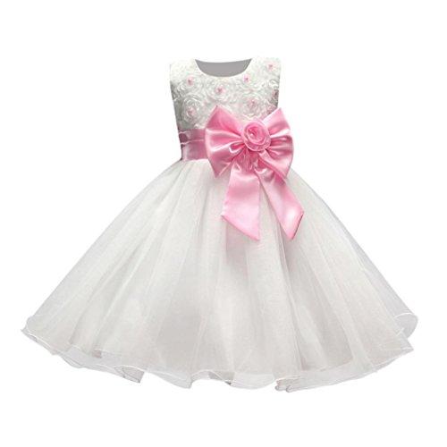 Btruely Mädchen Prinzessin Kleid Brautjungfern Kleid Hochzeit Abendkleid Formale Cocktailkleid...
