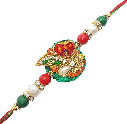 YouBella Fashion Jewellery Designer Bracelet Rakhi for Brother