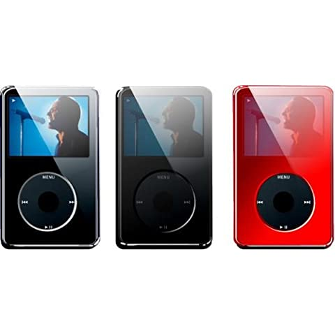 Speck IV 30-3PK-cfr. iPod video 30GB See-Thru-Custodia rigida, confezione da 3, colore: trasparente/nero/rosso