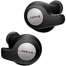 Jabra Elite Active 65t - Auriculares inalámbricos para deporte (Bluetooth® 5.0, True Wireless) con Alexa integrada, Negro y Titanio