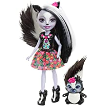 Enchantimals Muñeca con mascota Sage Skunk (Mattel ...