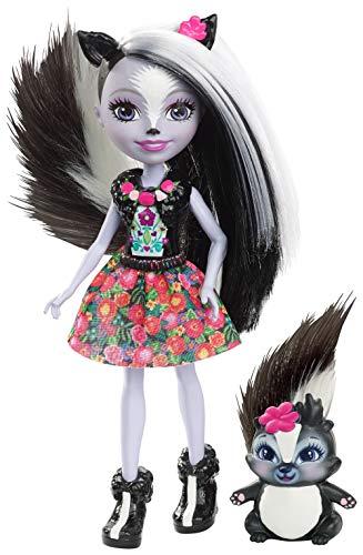 Enchantimals Muñeca con mascota Sage Skunk (Mattel DYC75)