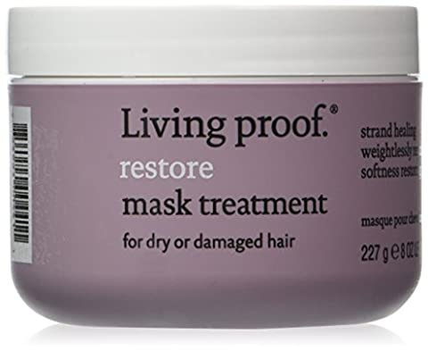 Living Proof restore - hair masks (Unisex, Damaged hair, Dry hair, Water/Eau/Aqua, Cetearyl alcohol, Astrocaryum Tucuma Seed Butter, Behentrimonium Chloride, Octafluor, On clean, wet hair, apply Restore Mask Treatment generously from roots to ends. Leave in for five mi)