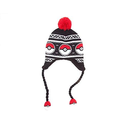 Pokémon – Pokéball Bommelmütze