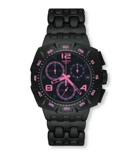 Swatch Black Dunes SUIB410 - Orologio da uomo