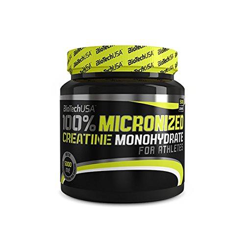 100% Creatine Monohydrate - 1.1 lbs (jar) - Biotech by BiotechUSA - 41EHNawzR5L