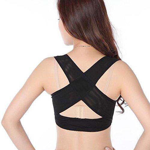 ocool Haltung Corrector Schlüsselbein Bandage, Straightener Rücken Schulter Brust Korsett bis verbessern und Fix Armen Haltung