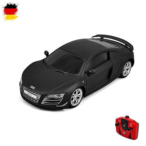 ferngesteuertes auto audi Audi R8 GT - RC ferngesteuertes Lizenz-Fahrzeug Auto Modell-Maßstab 1:24 inkl. Fernsteuerung