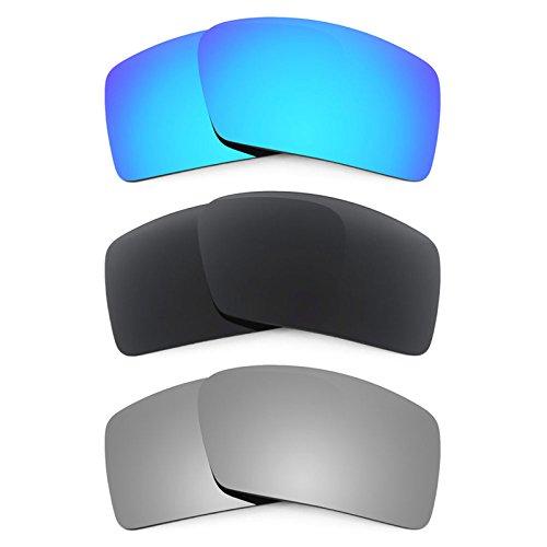 Revant Ersatzlinsen für Oakley Eyepatch 2 Polarisiert 3 Paar Kombipack K015