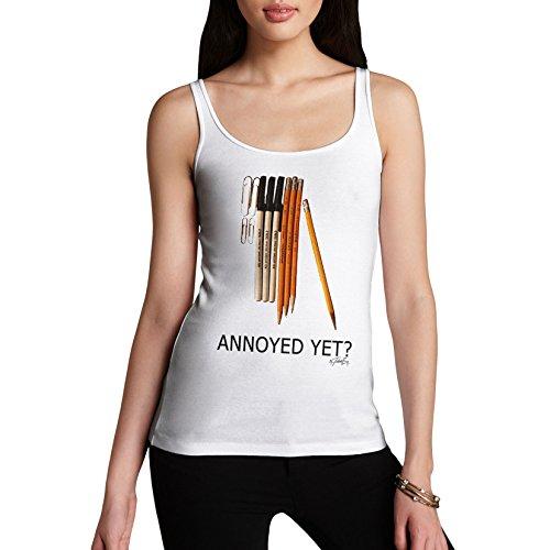 TWISTED ENVY - T-shirt - Senza maniche  - Donna bianco X-Large