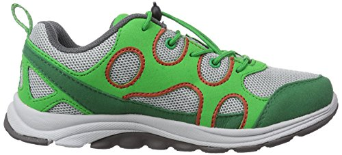 Jack Wolfskin Southpark Low K, Baskets Basses mixte enfant Vert - Grün (cucumber green 4033)