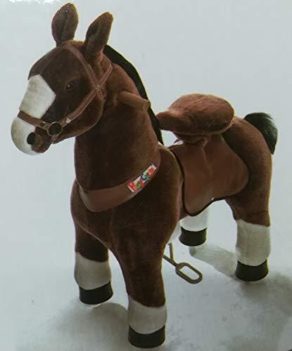 PonyCycle Mister Ed - Modell 2020 - U Serie - Schaukelpferd - Kuscheltier auf Rollen - Inline - Kinder - Pony - Pferd - Reiten - Plüschtier - MyPony (Medium)