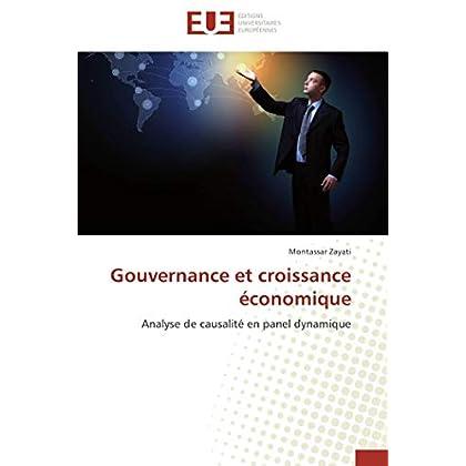 Gouvernance et croissance économique