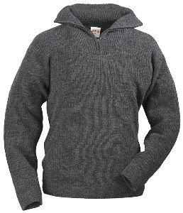 Preisvergleich Produktbild MIRAM Rollkragenpullover Wolle grau Gr.XL