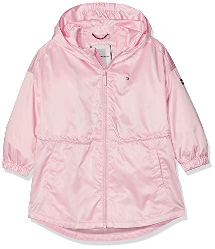 Tommy Hilfiger Baby-Mädchen Light Nylon Parka Mantel Rosa (Almond Blossom 634), Herstellergröße: 86 Nylon Wintermantel