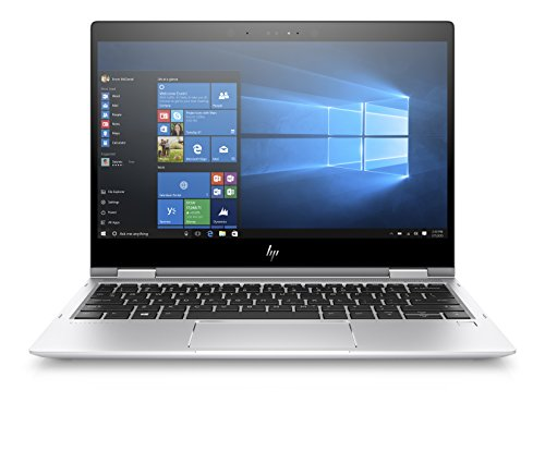 "HP Elitebook X360 1020 G2 Notebook PC Convertibile, Core I5-7300U, RAM 16 GB, Display 12.5"" FHD 1920 x 1080 Touch, SSD da 512 GB, Argento"