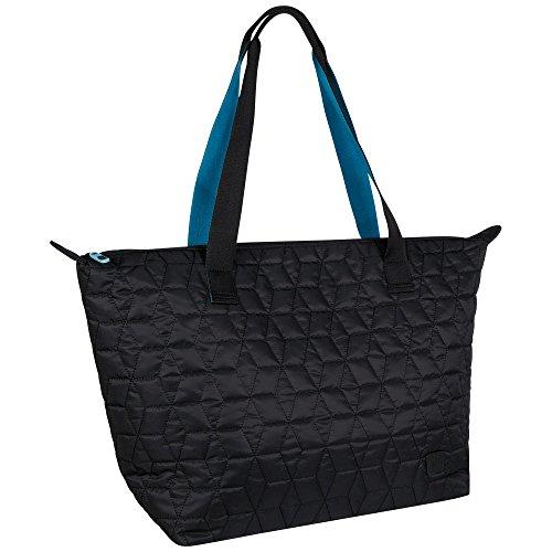 Chiemsee Quilted Weekender, Black, 44 x 22 x 41 cm, 39 Liter, 5021802 (Bag Duffel Gesteppte)