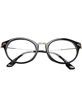 RUIRUI Moda occhiali telaio vetri ottici per uomini e donne , c2 brown
