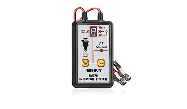 All Sun Em276 Einspritzdüsen Tester 4 Pluse Modi Leistungsstarkes Kraftstoffsystem Scan Werkzeug Auto