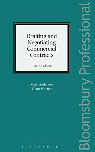 Drafting and Negotiating Commercial Contracts (English Edition)