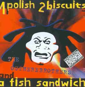 1 polish 2 biscuits and a fish sandwitch