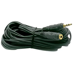 Metronic 470052, cavo audio, Jack 3,5 maschio / 3,5 femmina 5 metri