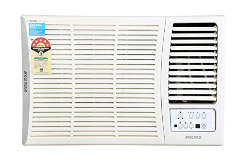 Voltas 1 Ton 5 Star Window AC (125 DY, White)