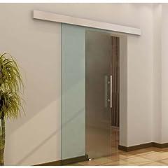 Beschreibung:   modernes Designhochwertige Qualität und VerarbeitungDie Tür besteht aus pflegeleichtem 8 mm SicherheitsglasOberfläche vollflächig satiniert, hohe Lichtdurchlässigkeit, blickdichtfür den Einsatz im Büro- und Wohnbereich und für Feucht...