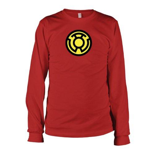 TEXLAB - Sinestro Corps - Langarm T-Shirt, Herren, Größe XXL, rot